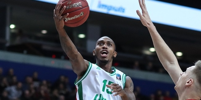 Jamar Smith, UNICS: 'I really want to win the EuroCup again'