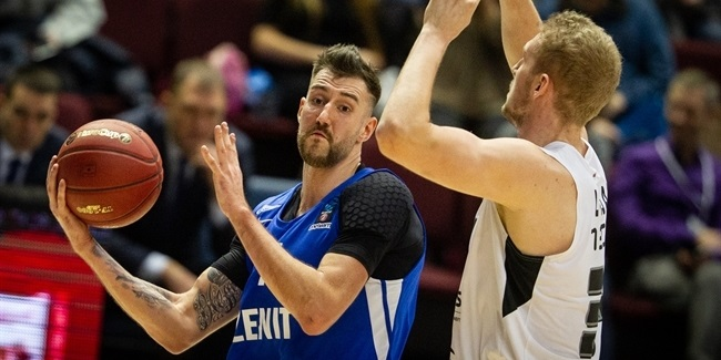 7DAYS EuroCup, Regular Season Round 7: Zenit St Petersburg vs. Partizan NIS Belgrade