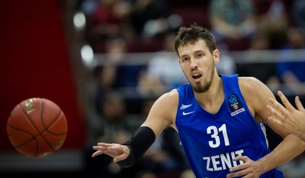 RS Round 7: Valiev leads Zenit to comeback win over Partizan