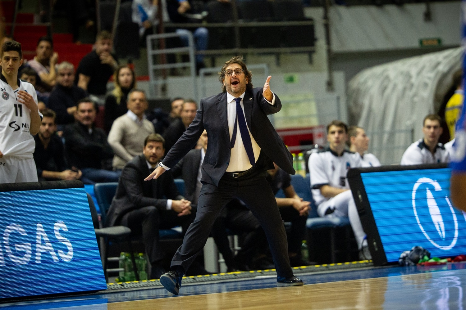 Andrea Trinchieri - Partizan NIS Belgrade (photo Zenit) - EC18