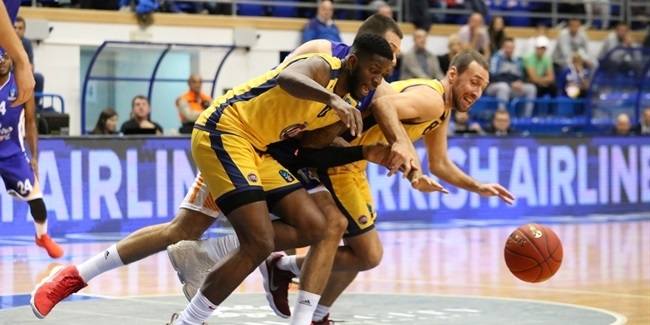 7DAYS EuroCup, Regular Season Round 7: Mornar Bar vs. Fiat Turin