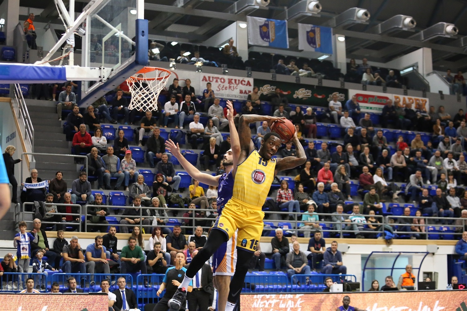 Tyshawn Taylor - Fiat Turin (photo Mornar) - EC18