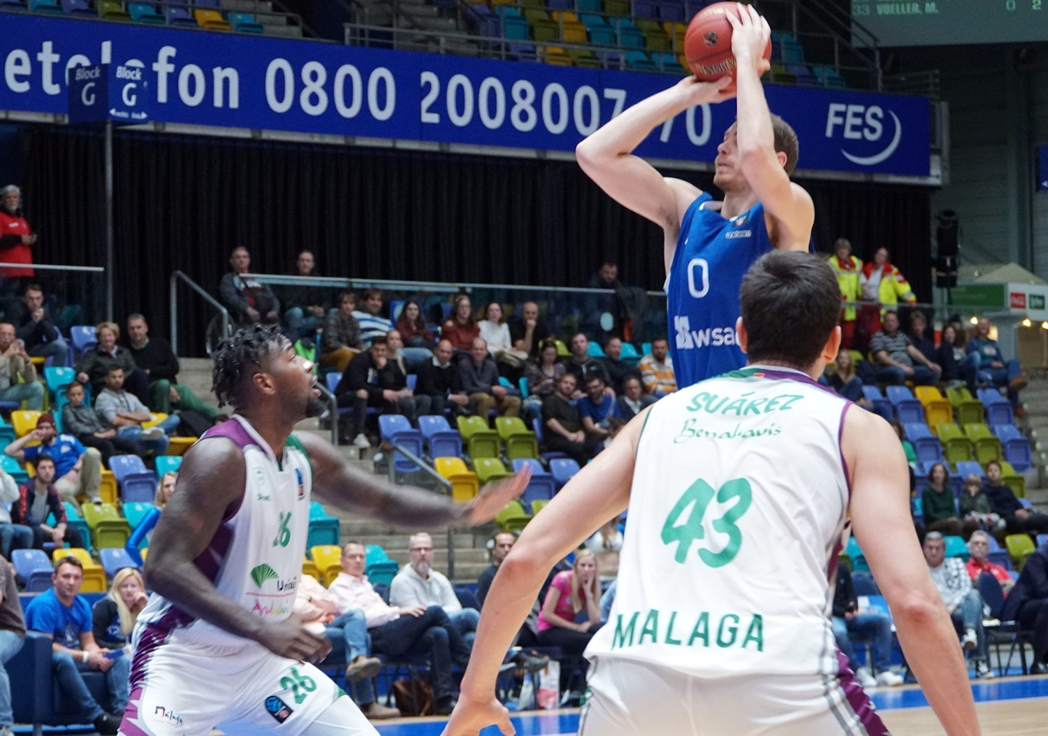 Erik Murphy - Fraport Skyliners Frankfurt (photo Skyliners) - EC18