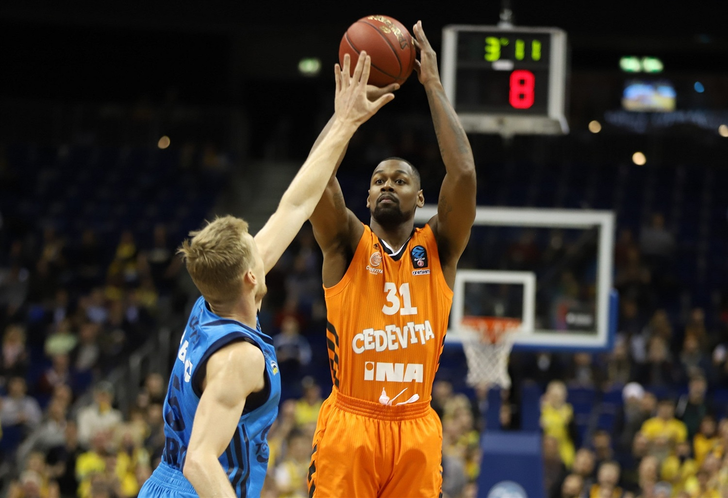 James Bell - Cedevita Zagreb (photo Andreas Knopf - ALBA) - EC18