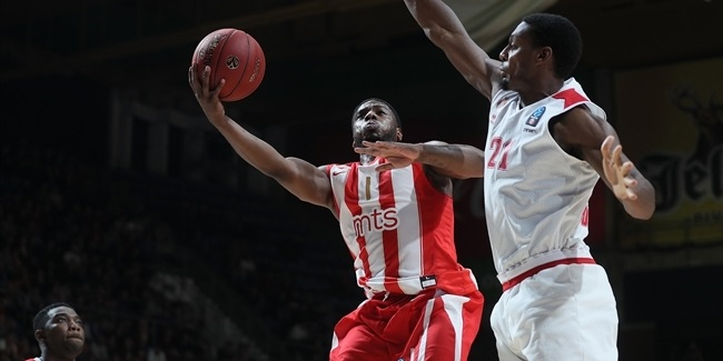 7DAYS EuroCup, Regular Season Round 7: Crvena Zvezda mts Belgrade vs. AS Monaco