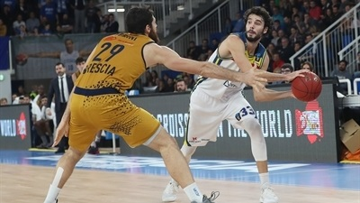 MoraBanc leaves Brescia with its first EuroCup road win