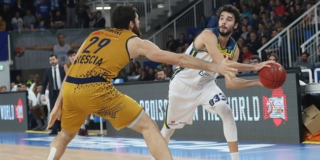 7DAYS EuroCup, Regular Season Round 7: Germani Brescia Leonessa vs. MoraBanc Andorra