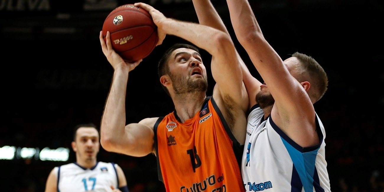 Mike Tobey - Valencia Basket (photo Valencia) - EC18