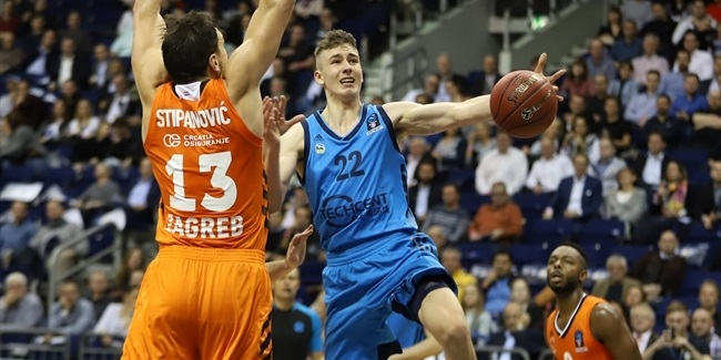 7DAYS EuroCup, Regular Season Round 7: ALBA Berlin vs. Cedevita Zagreb
