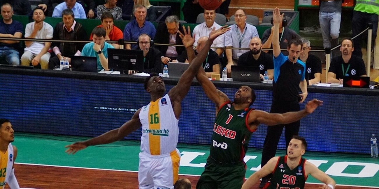 Jamel McLean - Lokomotiv Kuban Krasnodar (photo Limoges) - EC18