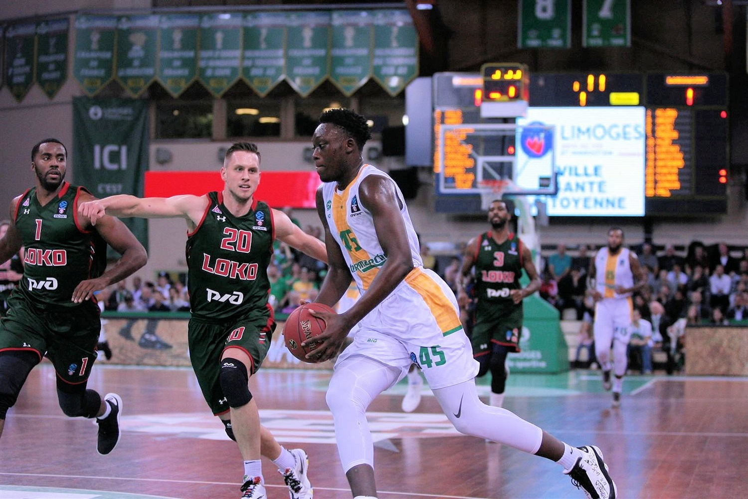 Sekou Doumbouya - Limoges CSP (photo Lokomotiv) - EC18
