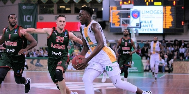 7DAYS EuroCup, Regular Season Round 7: Limoges CSP vs. Lokomotiv Kuban Krasnodar