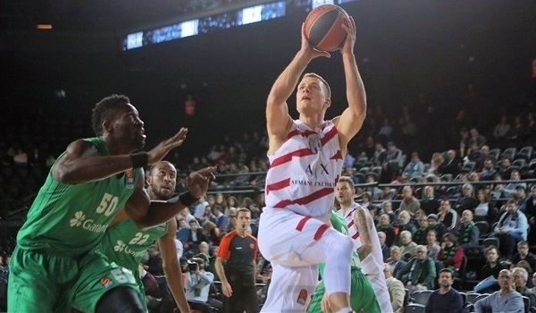 RS Round 7 report: AX Milan tops Darussafaka for its third straight road win