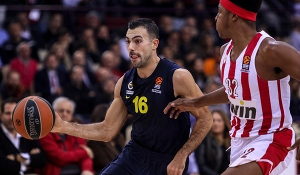 RS Round 7 report: Sloukas lifts Fenerbahce in Piraeus