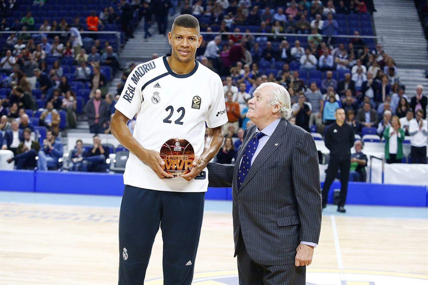 Walter Tavares, October MVP - Real Madrid - EB18