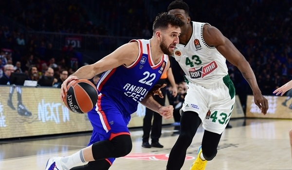 RS Round 7 report: Efes outhustles Panathinaikos in home win
