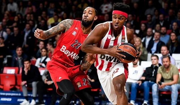 RS Round 8 report: Strelnieks shines late for Olympiacos in Munich