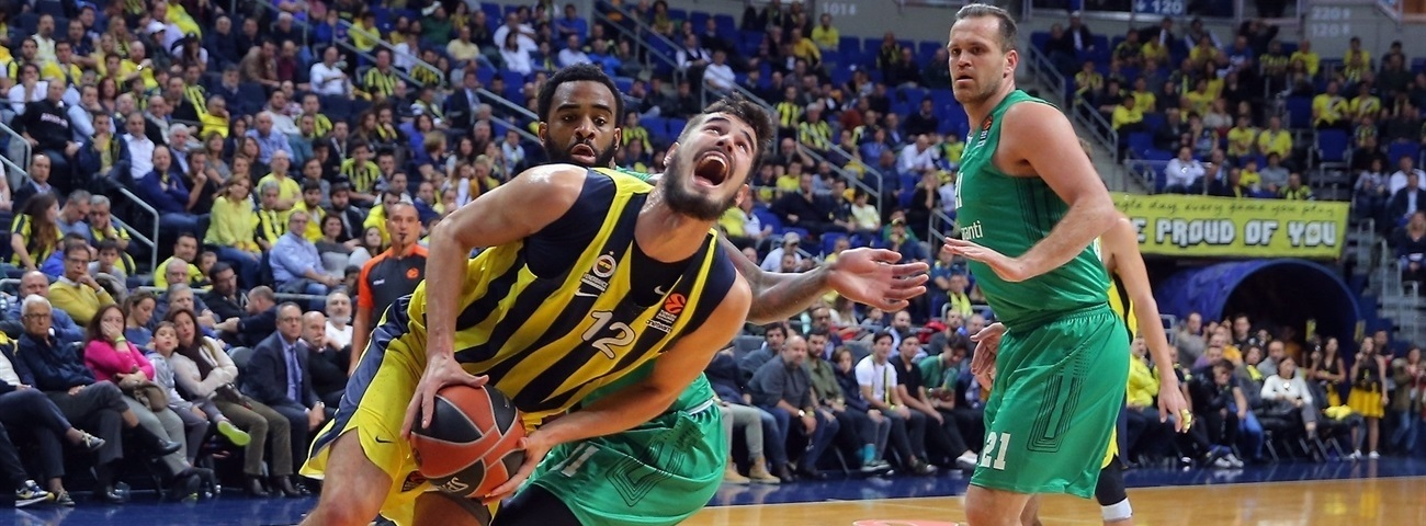 Fenerbahce's rare 100-point night