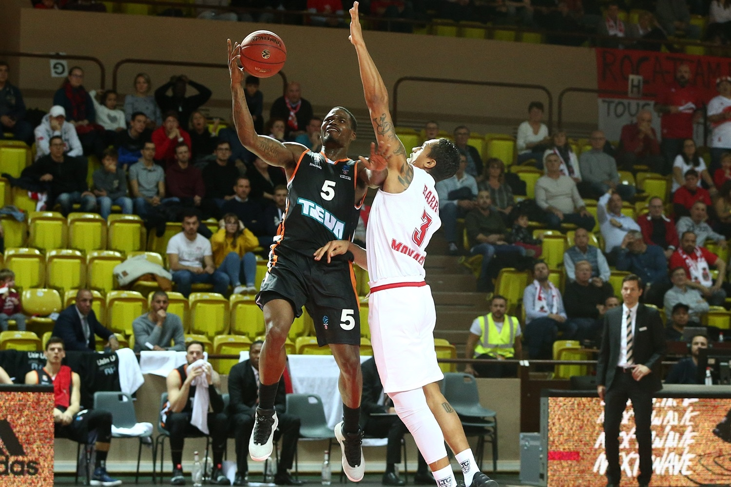 Javonte Green - ratiopharm Ulm (photo Monaco) - EC18