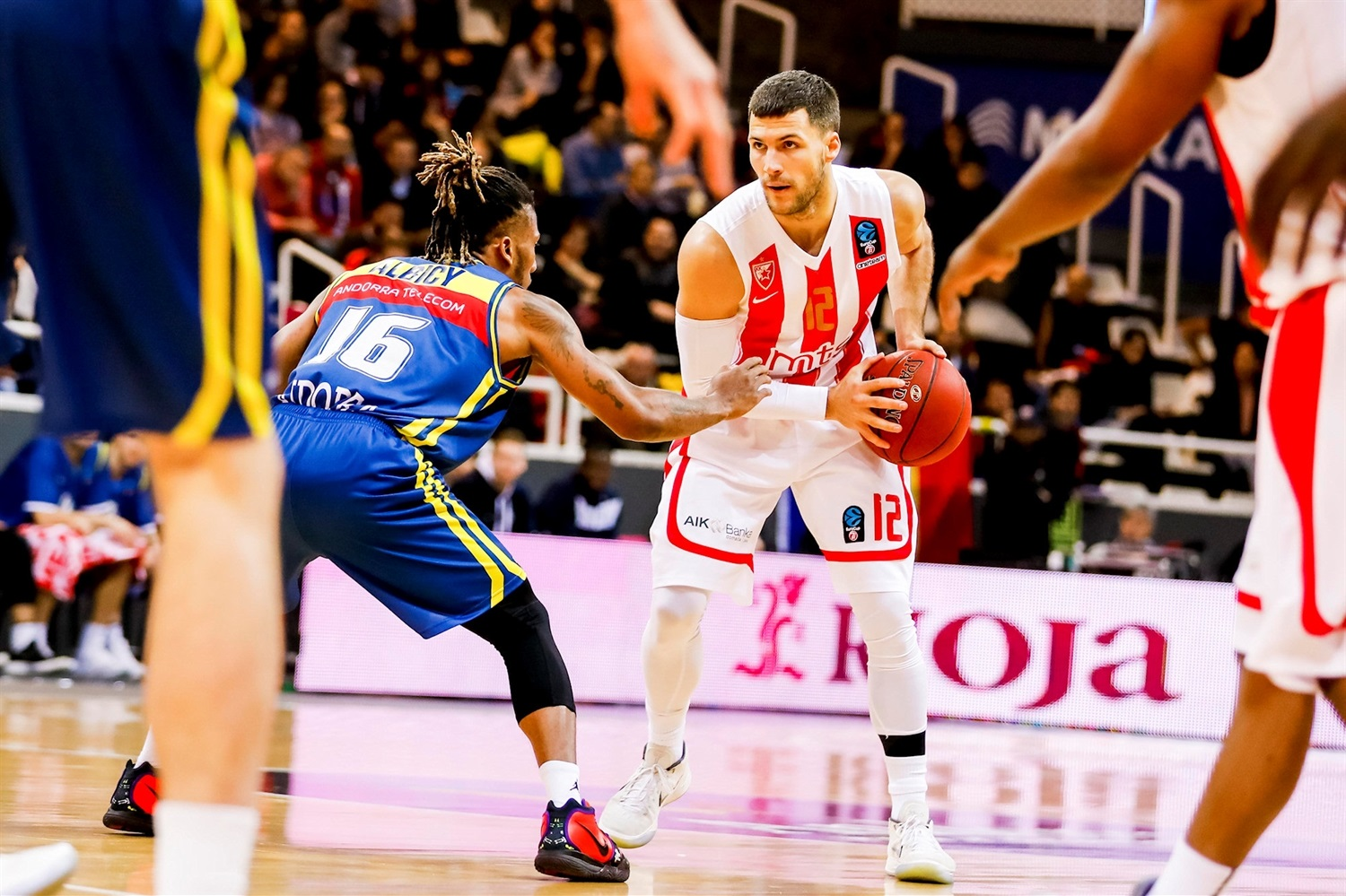 Billy Baron - Crvena Zvezda mts Belgrade  (photo Marti Imatge - Andorra) - EC18