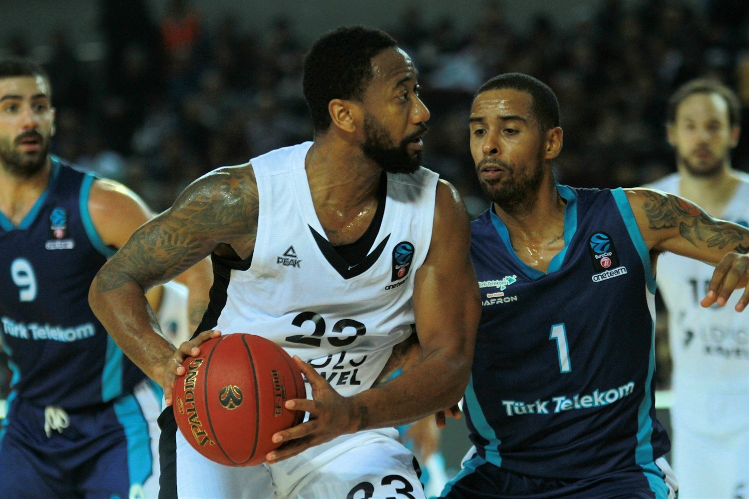 David Lighty - LDLC ASVEL Villeurbanne (photo Turk Telekom) - EC18