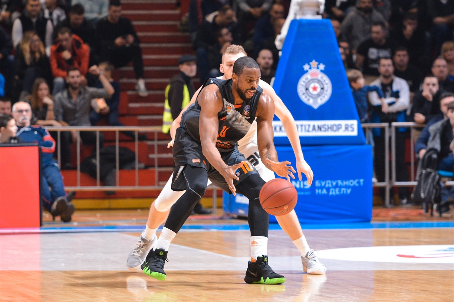 Will Thomas - Valencia Basket (photo Partizan) - EC18