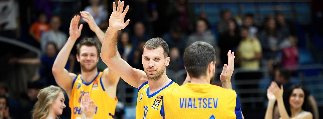 Khimki's luck turned with a basketball header!