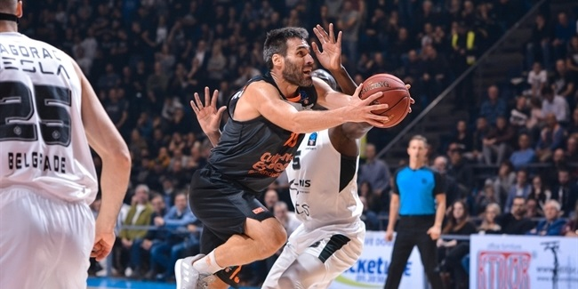 7DAYS EuroCup, Regular Season Round 8: Partizan NIS Belgrade vs. Valencia Basket