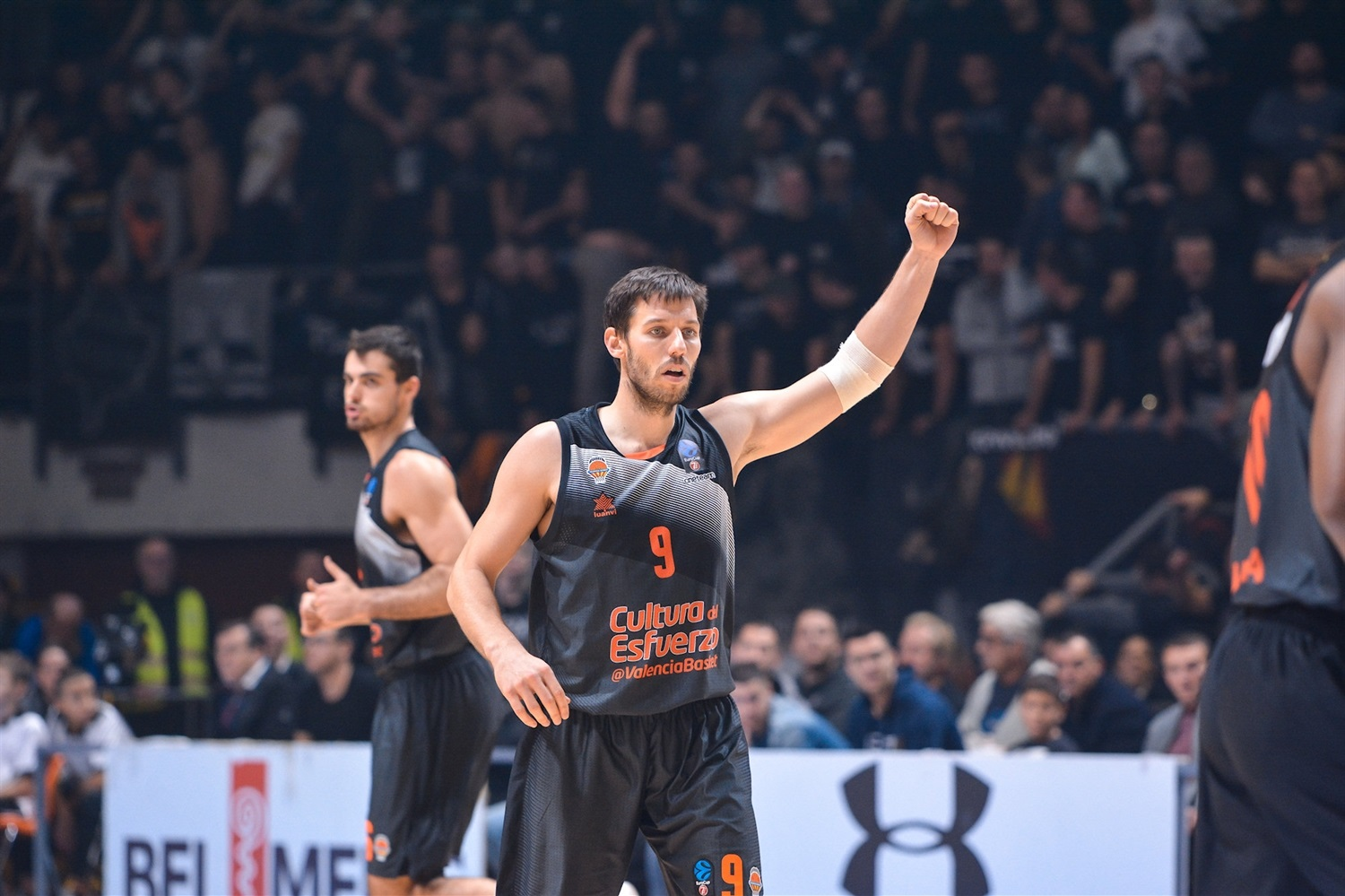 Sam Van Rossom - Valencia Basket (photo Partizan) - EC18