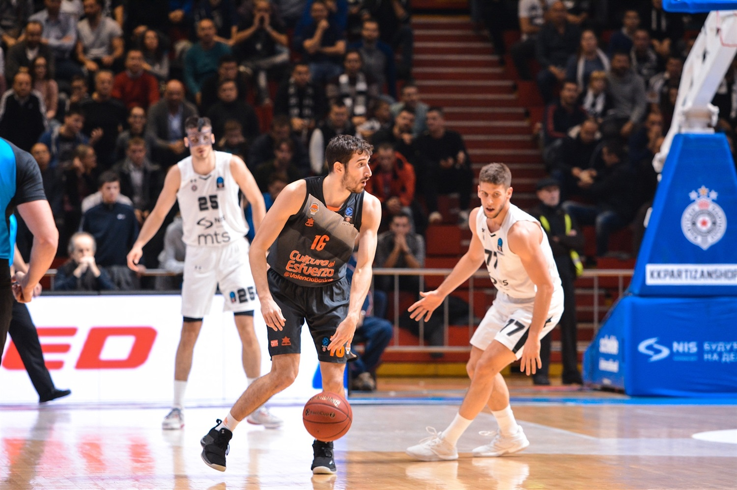 Guillem Vives - Valencia Basket (photo Partizan) - EC18