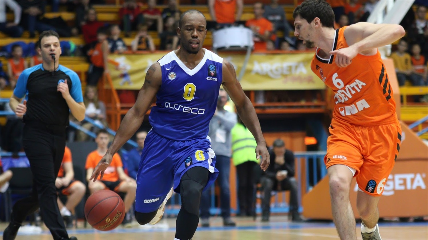 James Florence - Arka Gdynia (photo Cedevita) - EC18