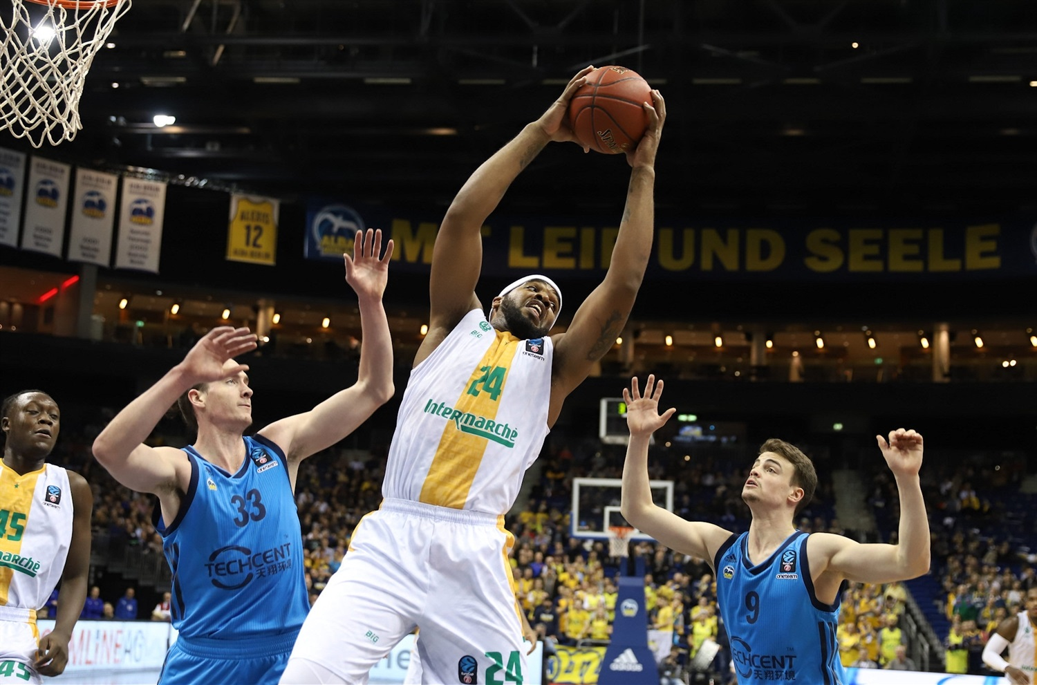 Samardo Samuels - Limoges CSP (photo Andreas Knopf - ALBA) - EC18