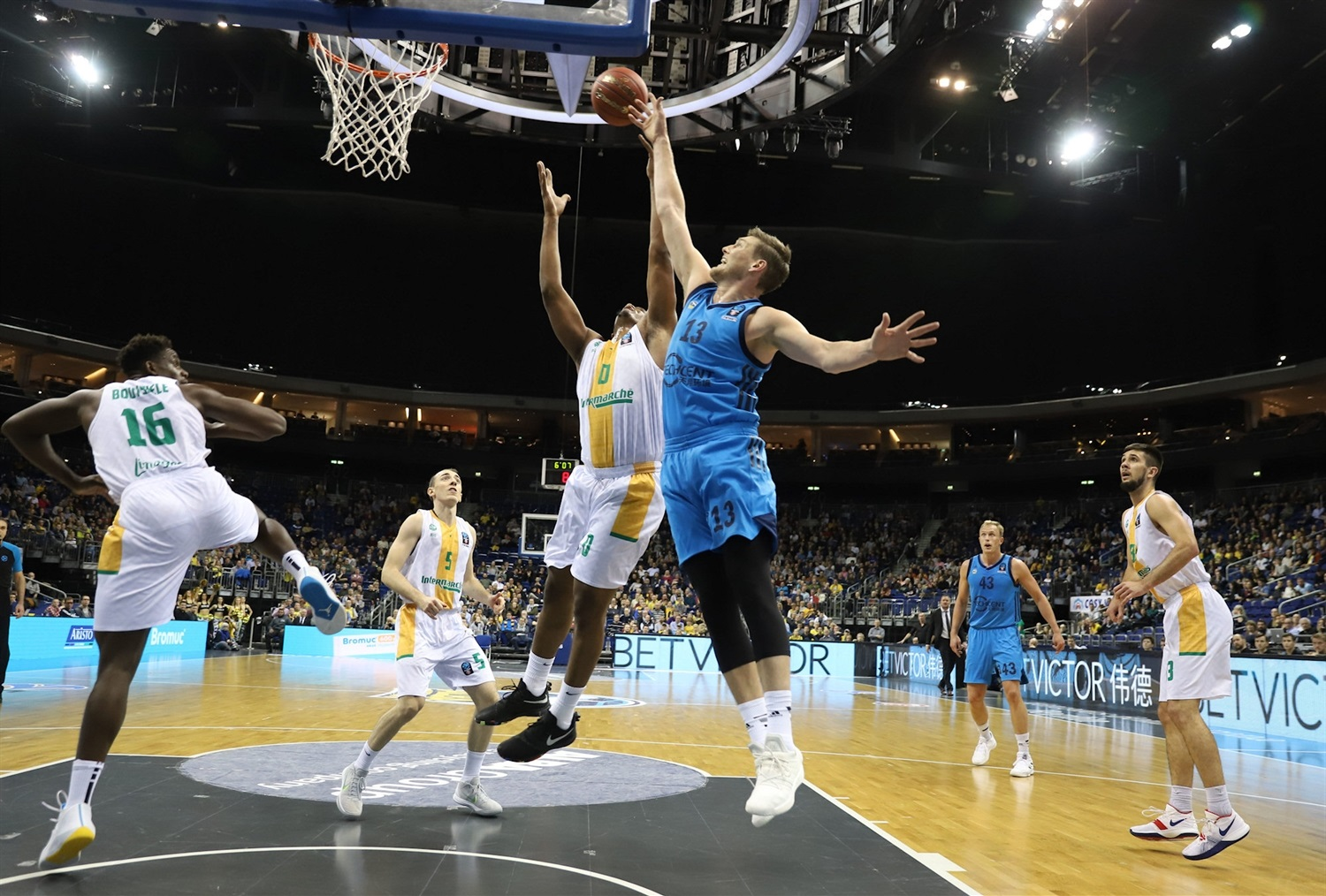 Clint Chapman - ALBA Berlin (photo Andreas Knopf - ALBA) - EC18