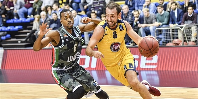 7DAYS EuroCup, Regular Season Round 8: Fiat Turin vs. UNICS Kazan