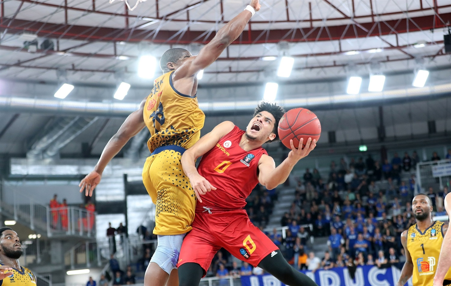 Tai Webster - Galatasaray Istanbul (photo Brescia) - EC18