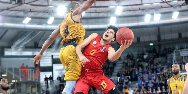7DAYS EuroCup, Regular Season Round 8: Germani Brescia Leonessa vs. Galatasaray Istanbul