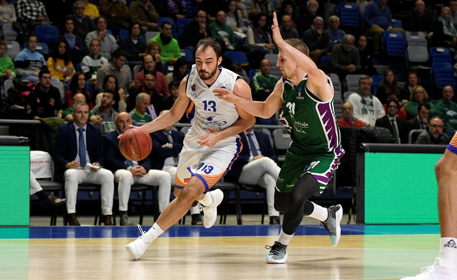 Dorde Drenovac - Mornar Bar (photo Unicaja) - EC18