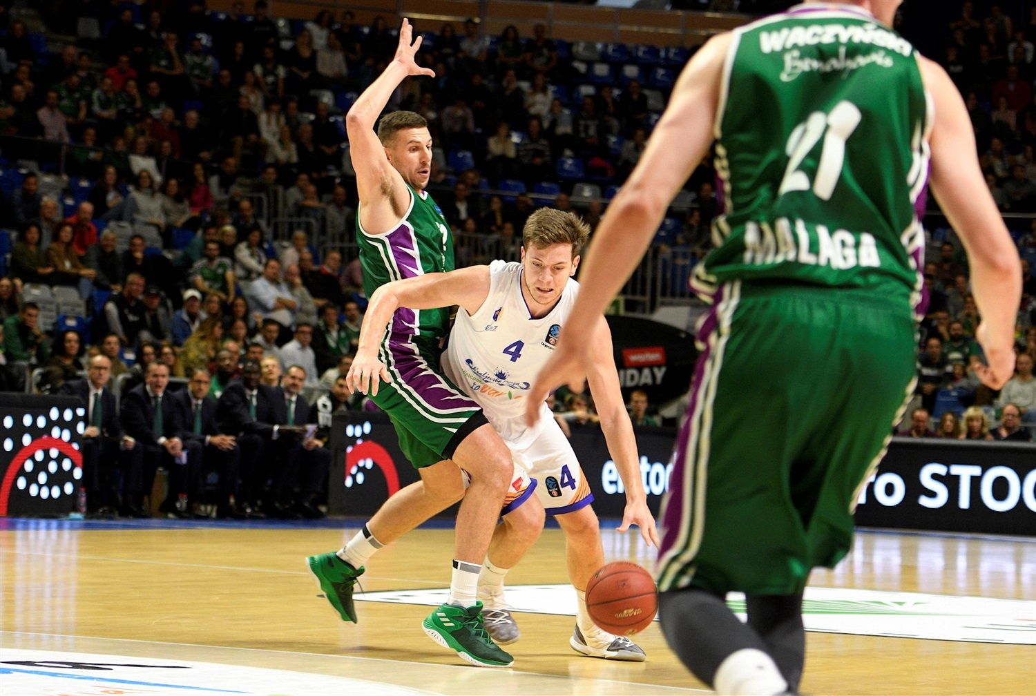 Strahinja Micovic - Mornar Bar (photo Unicaja) - EC18