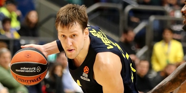 Jan Vesely, Fenerbahce: 'It is nice to be rewarded for the hard work we've done'