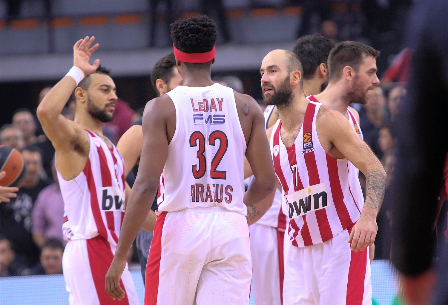 Players Olympiacos Piraeus - EB18
