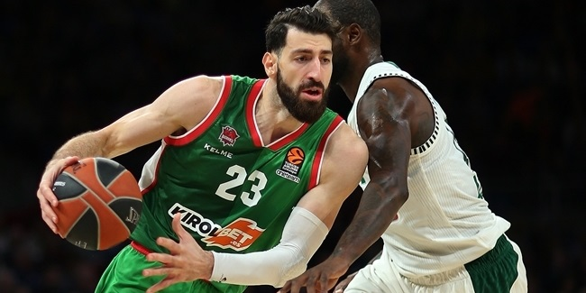 Shengelia slaked Baskonia's thirst for a win