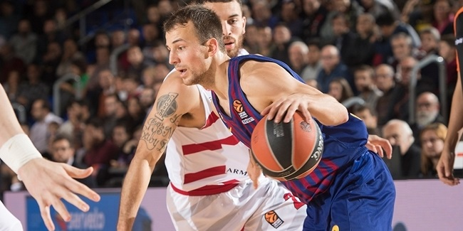 Kevin Pangos, Barcelona: 'We are where we wanted to be'