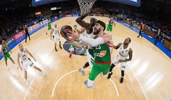 RS Round 9 report: Baskonia holds off Langford, Panathinaikos