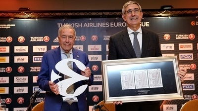 Maccabi's Mizrahi becomes Euroleague Basketball Legend