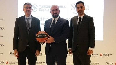Euroleague Basketball, Siesta celebrate partnership launch