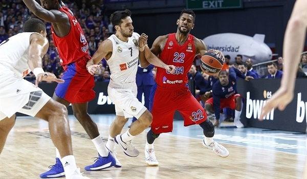 RS Round 10 report: Higgins, Clyburn lead CSKA past Madrid