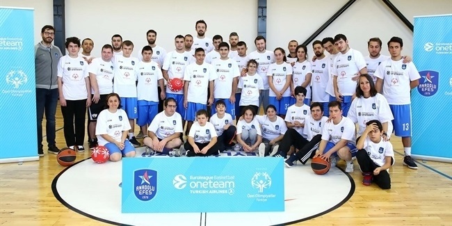 Efes and Special Olympics join forces for One Team