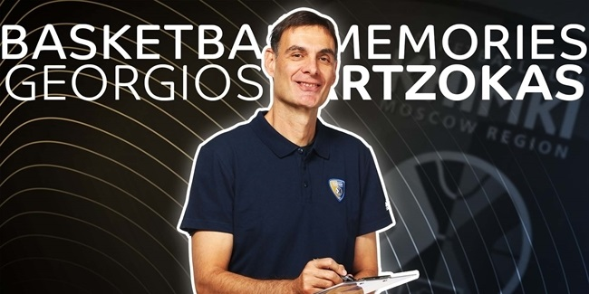 Coaches Corner, Georgios Bartzokas, Khimki: 'Basketball was always the main thing in our lives'
