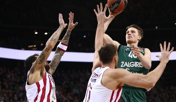 RS Round 11 report: Stunning comeback leads Zalgiris past Olympiacos