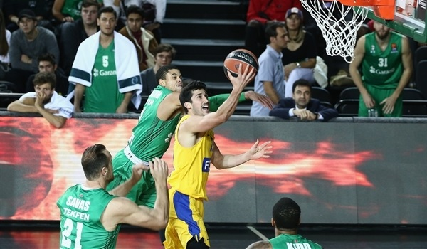 RS Round 11 report: Maccabi's huge rally prolongs Darussafaka's disappointment